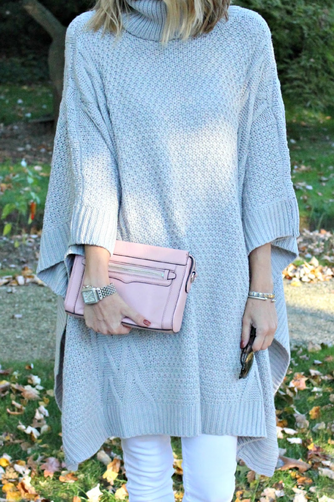 shein gray sweater