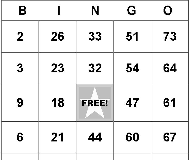 Bingo Pohja