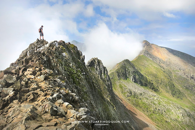 Crib Goch ridge, Snowdon walk, Mount Snowdon Horsehoe walk, via crib Goch Route, Pyg Track