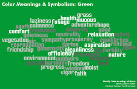 symbolism and meaning of colour green