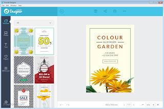 membuat desain poster tanpa ribet tanpa aplikasi - Fotojet