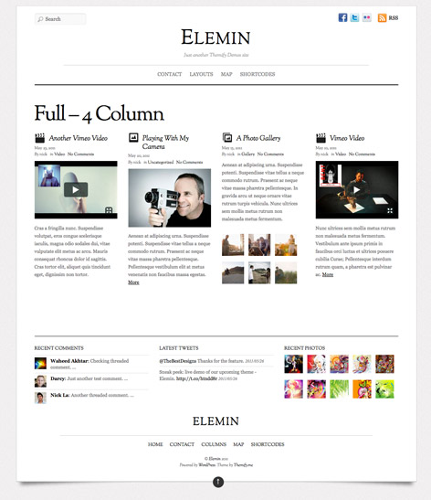 Labnol Like Theme for wordpress