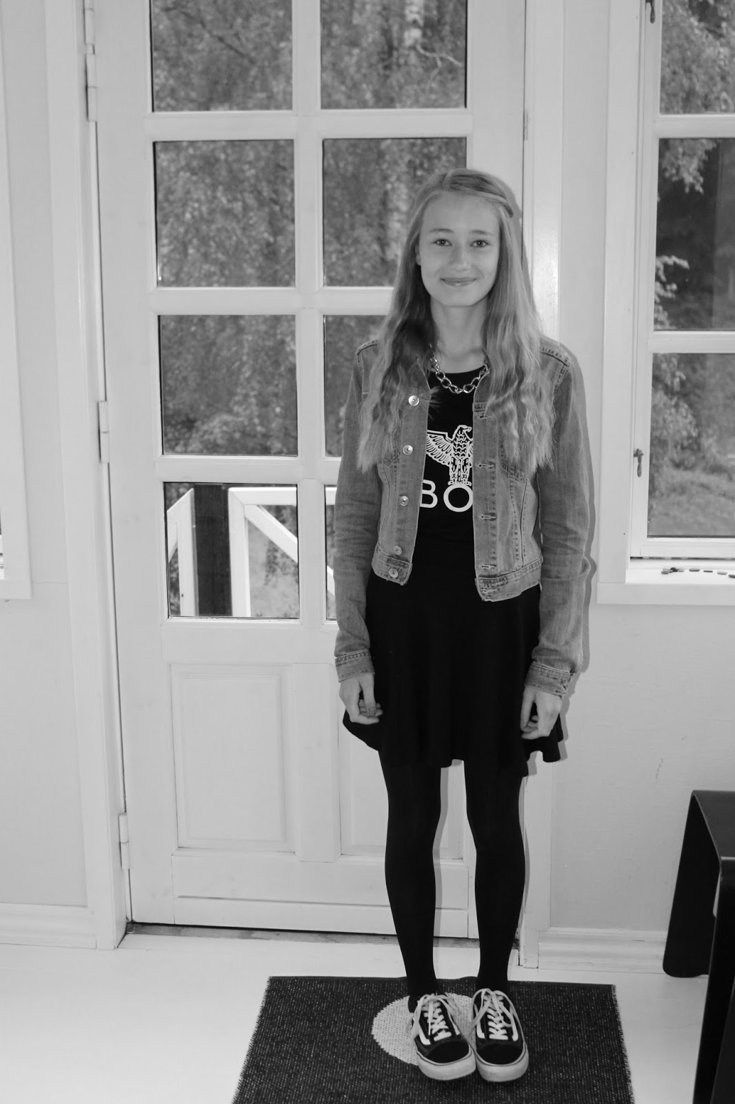 A fashion world by us: OOTD - First day of school