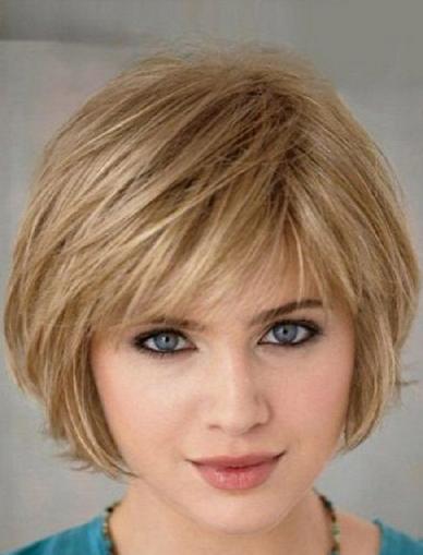 Gaya Potongan Rambut Pendek Perempuan Muka Bulat Foto Candid Kekinian