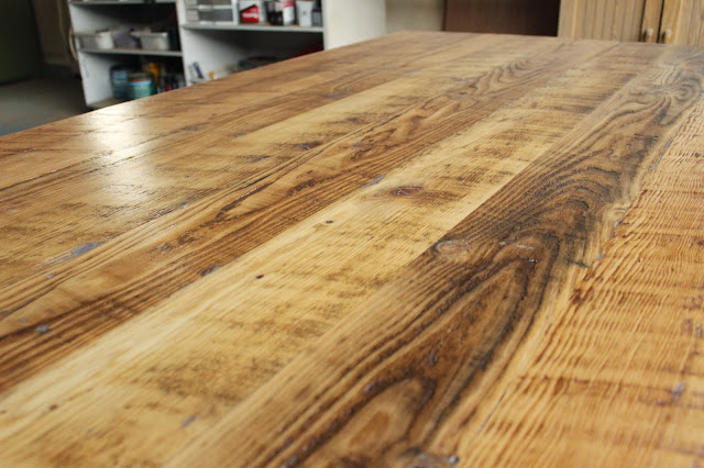 Arbor Exchange Reclaimed Wood Furniture Reclaimed Wood Dining Table With Double Stretcher