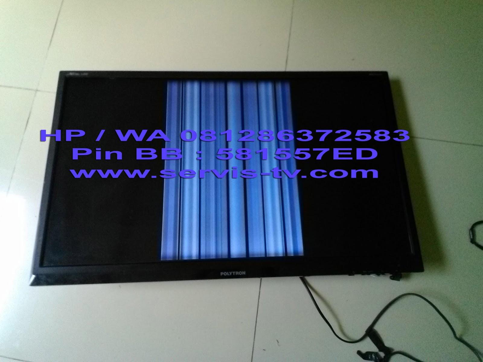 Perbaikan Polytron PLD 32T700 TV LED