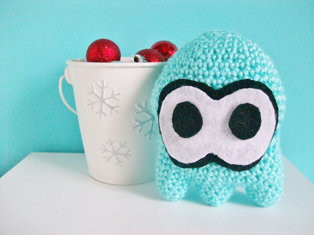 Crocheted Splatoon Squid