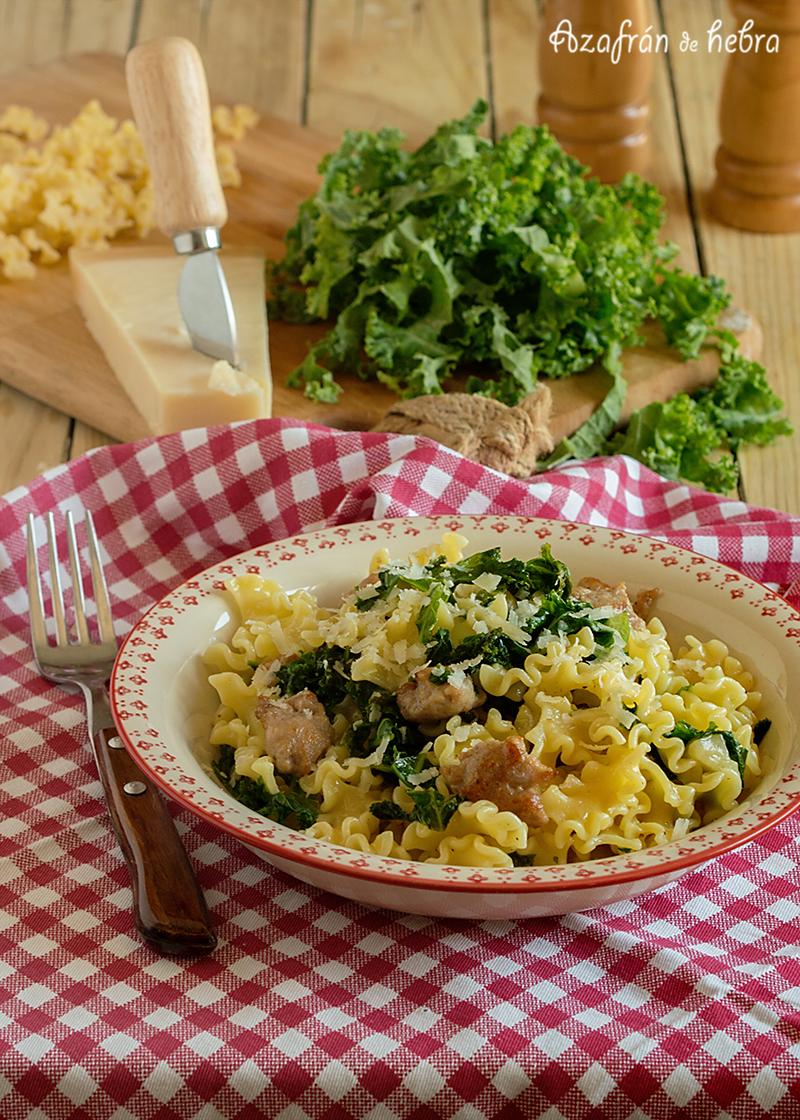 Azafr n de hebra for Cocinar kale sarten