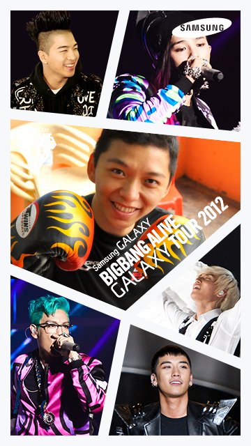 Bigbang alive Galaxy Tour 2012 Malaysia Samsung GALAXY S3 Facebook Apps Photo