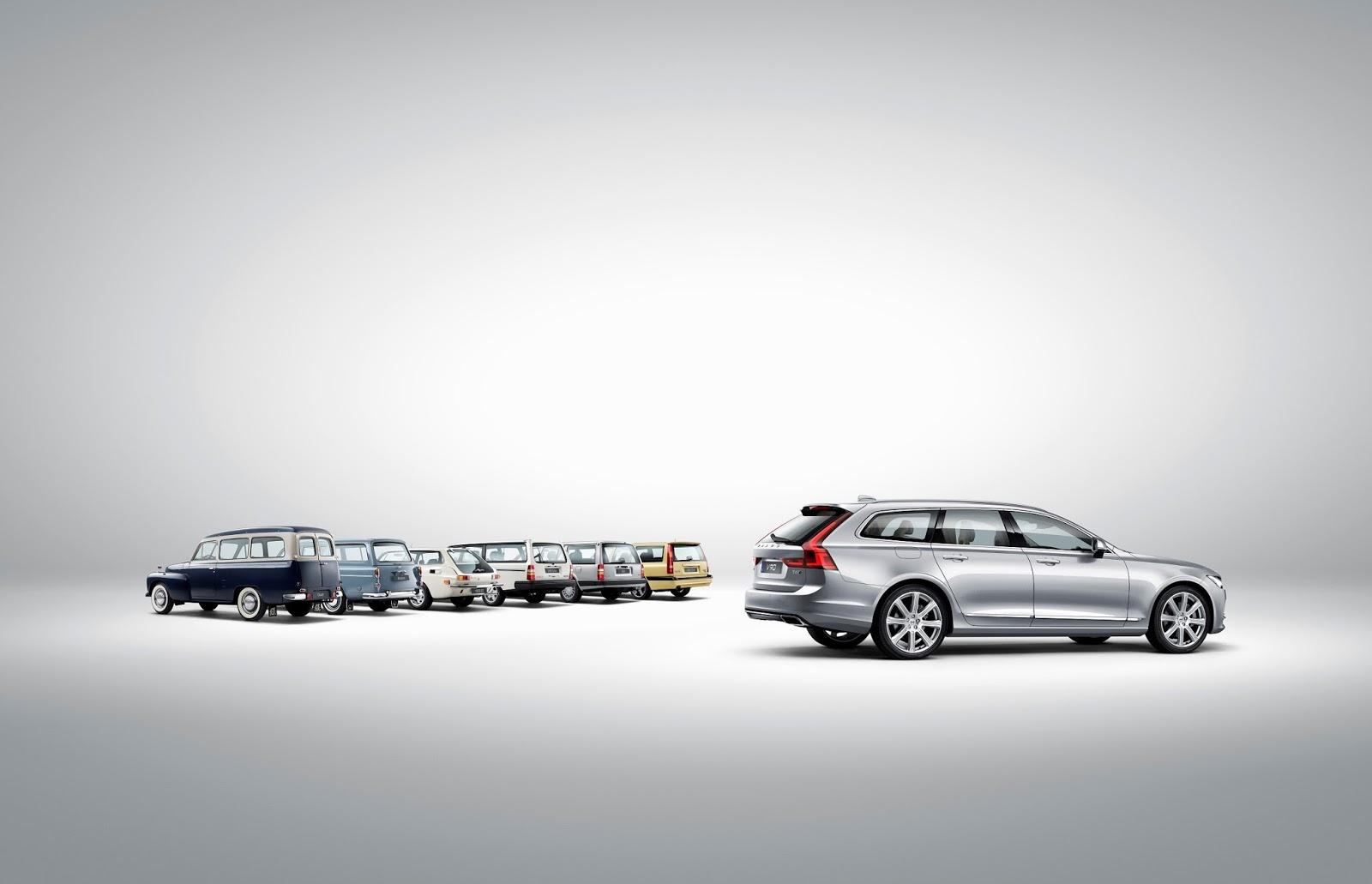 NEO%2BVOLVO%2BV90 5 Το V90 είναι το πιο όμορφο, το πιο ασφαλές station wagon και το πιο... Volvo Station Wagon, Volvo, Volvo V90