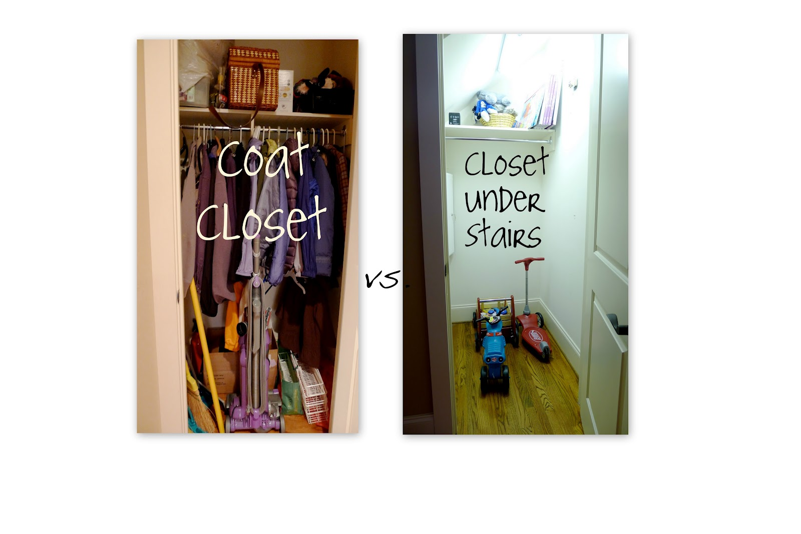 Taking The Coats Out Of Coat Closet