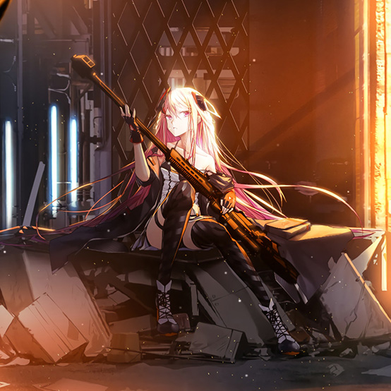 M82A1 Girls' Frontline Wallpaper Engine