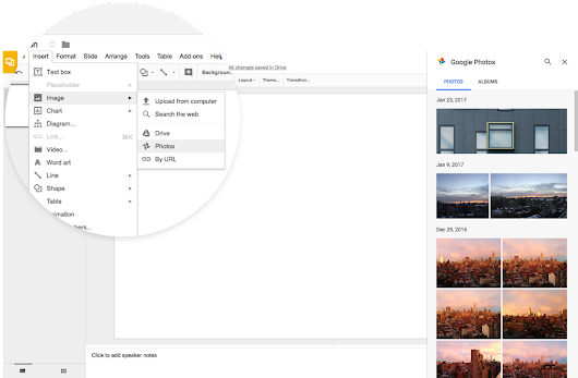 Insert images more easily in Google Docs, Slides, and Drawings