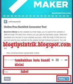 membangun backlink tumblr dengan reblog
