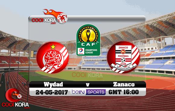 مشاهدة مباراة زاناكو والوداد اليوم 24-5-2017 دوري أبطال أفريقيا