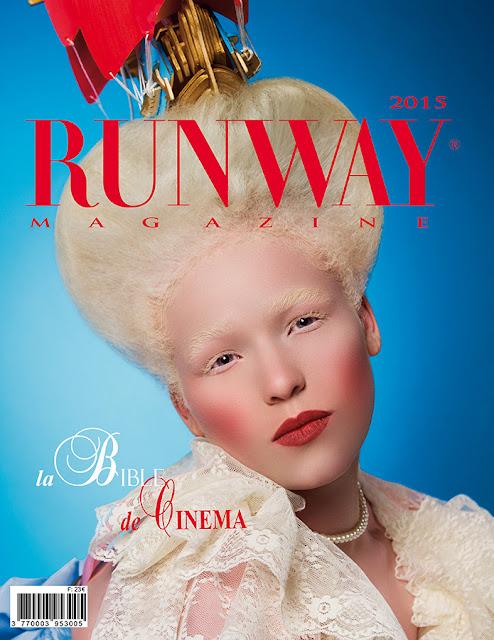 RUNWAY MAGAZINE issue 2015 RUNWAY MAGAZINE cover 2015