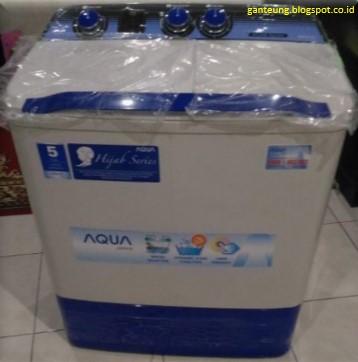 Dalam Artikel Ini Akan Berbagi Pengalaman Membeli Mesin Cuci Merk Aqua 881XT Hijab Series Dulu Sanyo Yang Merupakan Sebuah Belanja Online
