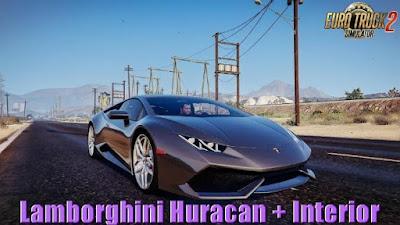 Lamborghini Huracan + Interior v2.0