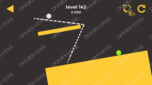 Ball & Ball Level 142 Solution, Walkthrough, Cheats for android and ios
