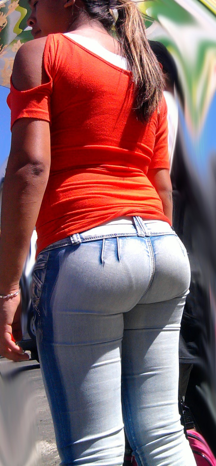 Tight jeans sexy hot girls in