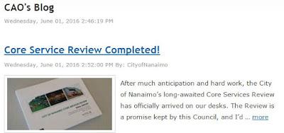 CAO's blog