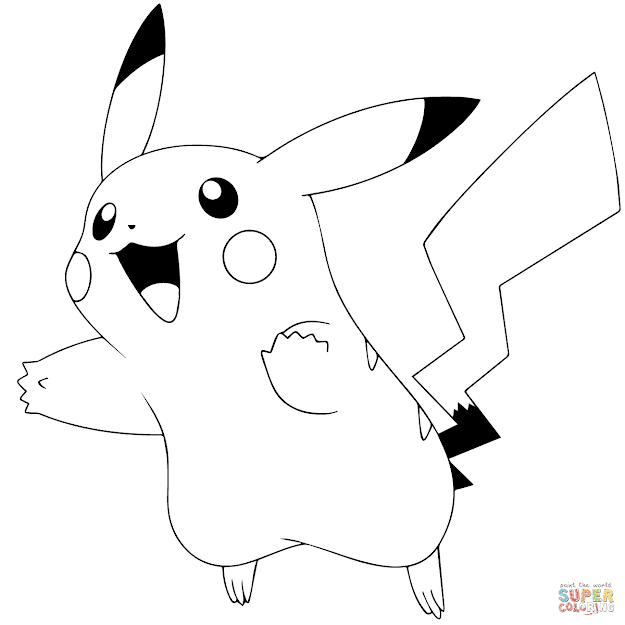 Pokemon Free Printable Coloring Sheets Pokamon Go Pikachu Coloring Page