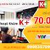 Khuyến mại hấp dẫn gói 4 kênh K+ HD trên hệ thống truyền hình số của VTVcab