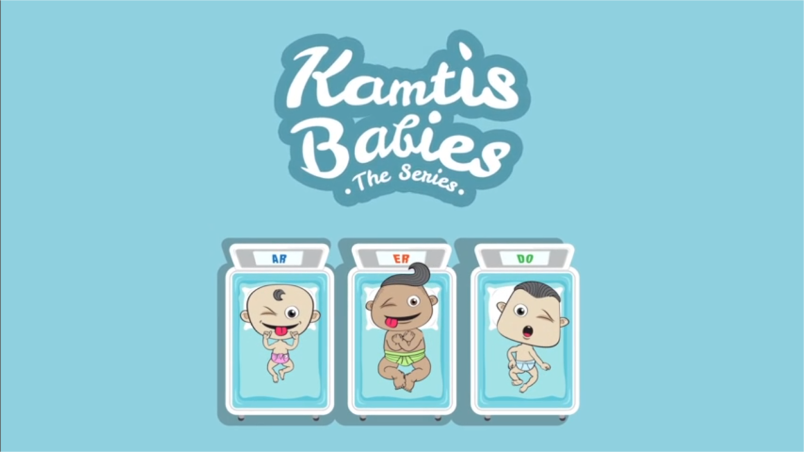 Padapanik Blogzine KAMTIS BABIES THE SERIES ANIMASI EDUKASI
