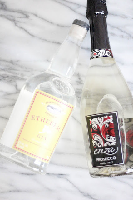 Blood Orange Sorbet Cocktail