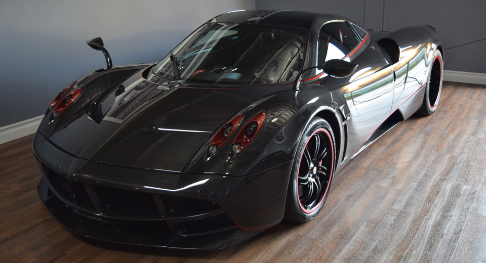 Pagani Huayra With Gorgeous Exposed Carbon Finish Costs As Much As A McLaren P1