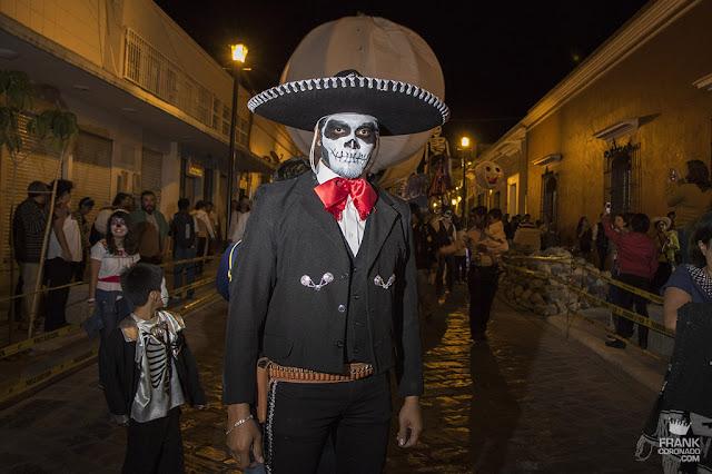 charro catrin el dia de muertos en Oaxaca