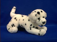 dalmatian plush stuffed animal squirt