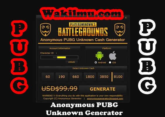 Tutorial Cara Hack Unknown Cash (UC) Game PUBG Mobile - Wakil Ilmu