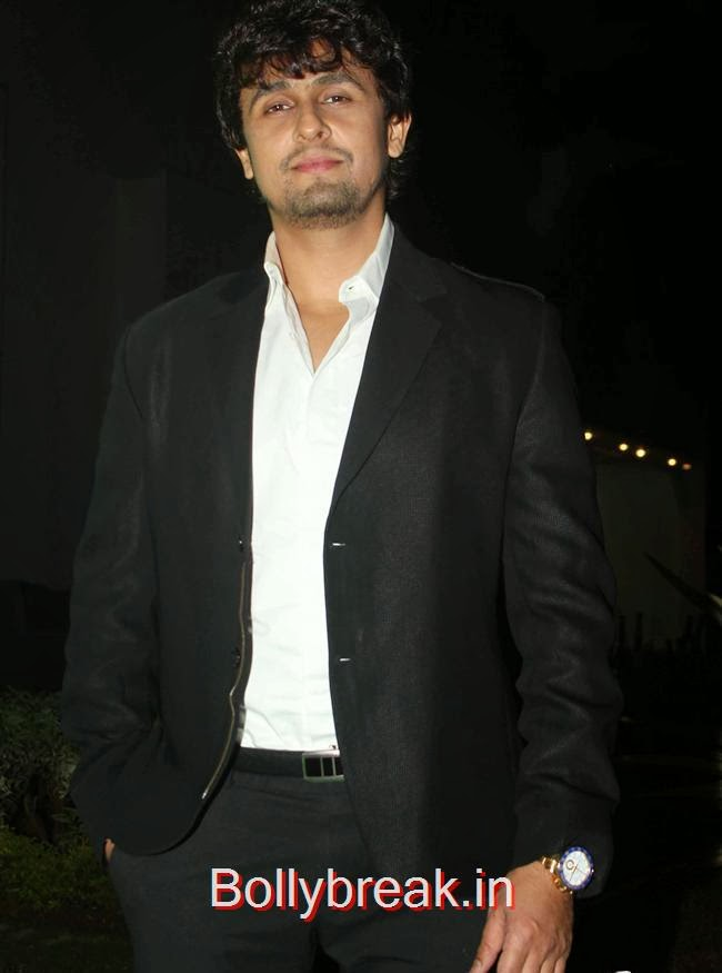 Sonu Nigam, Hot Babes at Society Young Achievers Awards 2013