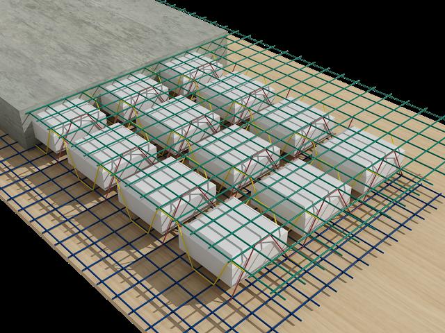 Coffa trong và cốt thép 3D