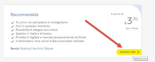 raccomandata-online