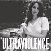 Capa do álbum Ultraviolence de Lana Del Rey