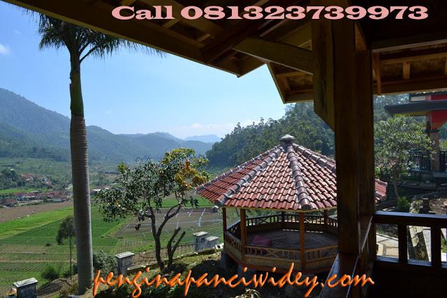 Berwisata dan menginap di villa kawah putih dari wonogiri
