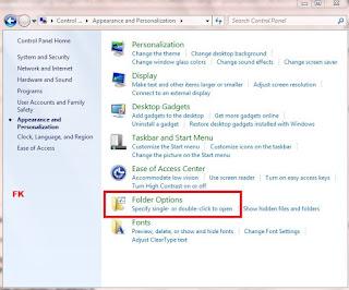 Cara menampilkan folder yang terhidden (disembunyikan) pada windows 7, 8, dan 10