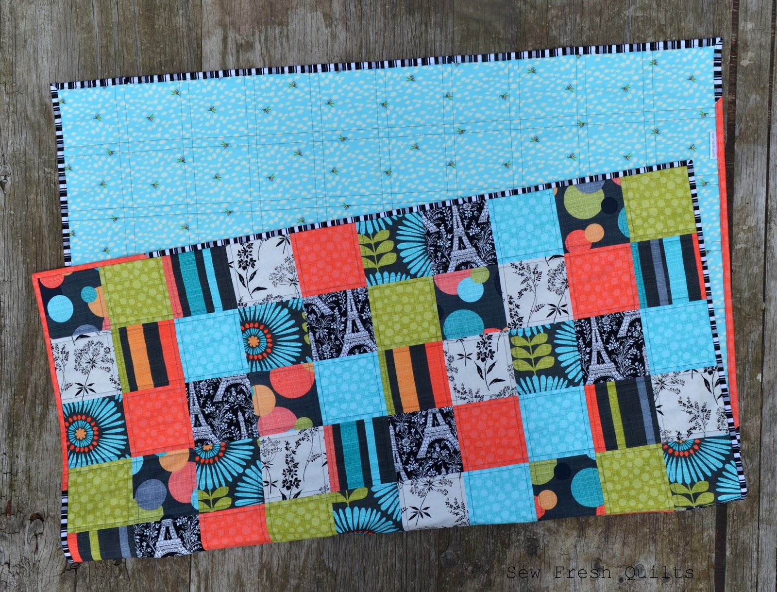 Sew Fresh Quilts Easy Patchwork Quilt Tutorial Amp Giveaway