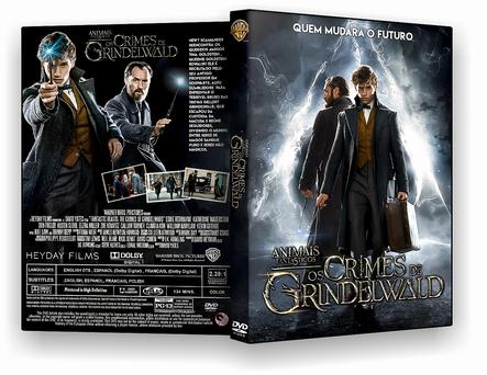 DVD – Animais Fantásticos Os Crimes de Grindelwald – AUTORADO