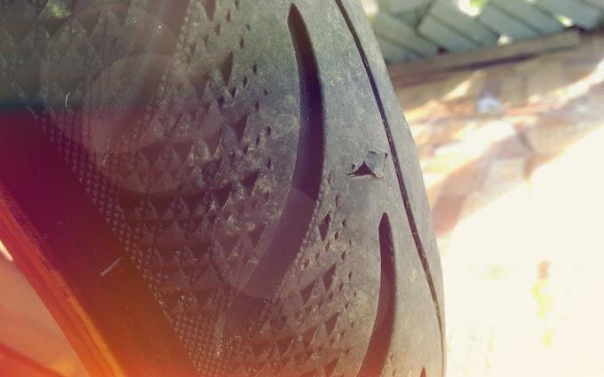 Tampal Bahagian Dalam Tayar Motorsikal Yang Bocor