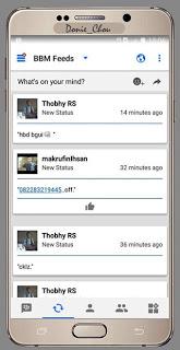 BBM Like Ios V3.0.1.25 Apk