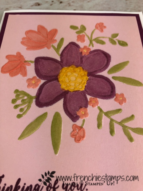 Lovely Floral Embossing Folder, Stampin'Up!, Frenchiestamps,