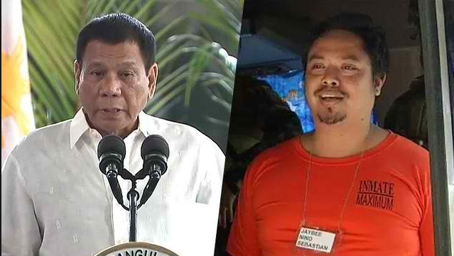 Duterte rejects talks to Sebastian: 'I do not talk to criminals. He can go to the fiscal if he wants'