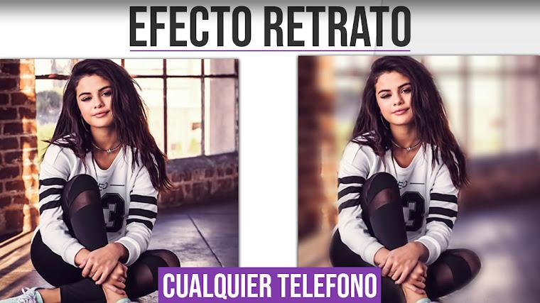 Efecto Retrato del iPhone en CUALQUIER TELEFONO - Poner Efecto Retrato