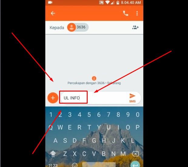 Cek Pulsa Telkomsel Dengan Mengirim SMS