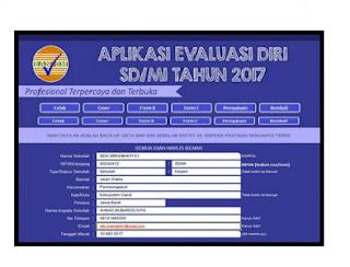 Aplikasi Evaluasi Diri Sekolah (EDS) SD SMP SMA SMK