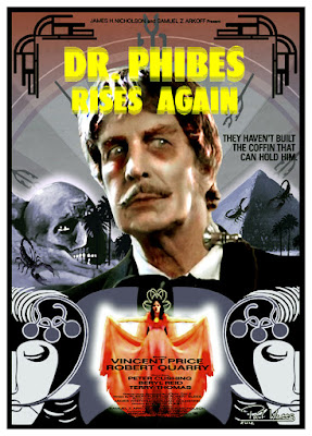 Dr. Phibes Rises Again 13 DR PHIBES RISES AGAIN American International Pictures 1972