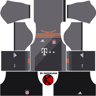 Bayern Munich Jersey (kits) 2016/17 - Dream League Soccer
